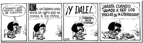 mafalda pollos literatura