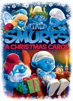 """Los Pitufos también tienen su propia adaptación: """"Una navidad con Los Pitufos"""", de 2011."""