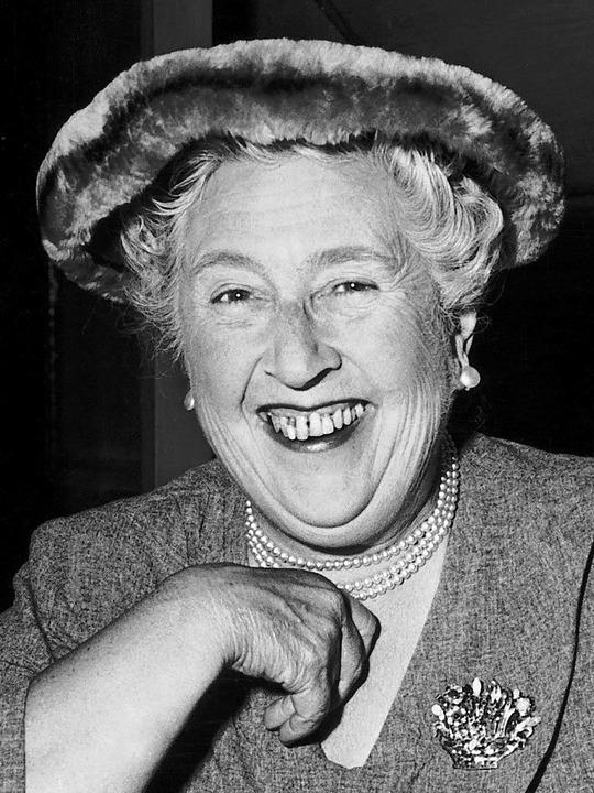 Auténtica sonrisa de Agatha Christie