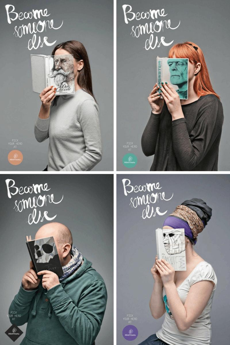 Campaña de fomento de la lectura: sé otra persona