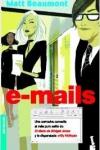 Portada de e-mails, una novela sobre el mundo de la publicidad