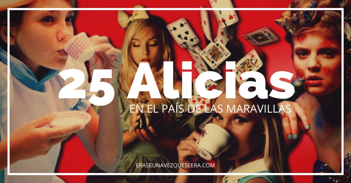 25 versiones de Alicia en el País de las Maravillas