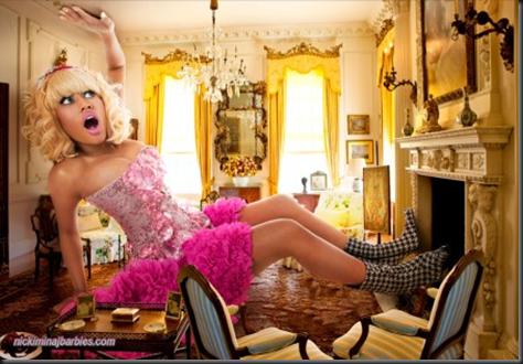 La cantante Nicki Minaj como Alicia