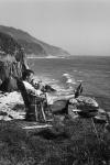 Hunter S. Thompson en Big Sur, 1961