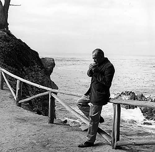 John Steinbeck en Pebble Beach 1960