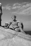 Truman Capote en Tánger, Marruecos, en 1949