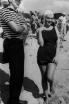 Arthur Miller y Marilyn Monroe en el set de grabación de Con faldas y a lo loco