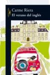 Portada de la novela de Carme Riera, El verano del inglés