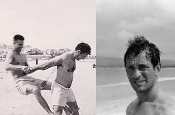 Jack Kerouac en Tánger en 1957