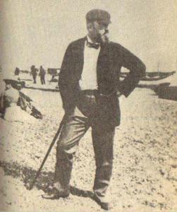 Henry James en la playa