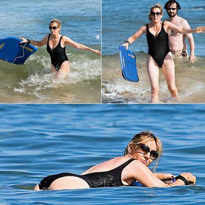 JK Rowling en la playa de Isla Mauricio