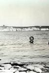 Federico García Lorca bañándose en Cadaqués