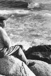 Matilde Urrutia y Pablo Neruda en Isla Negra