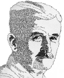 William Faulkner en un retrato realizado por John Sokol