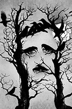 Edgar Allan poe x Carlo Giambarresi destacado