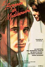 El expreso de medianoche, cartel de la película basada en la novela de Billy Hayes