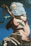 Ilusión óptica de George Bernard Shaw realizada por Victor Molev
