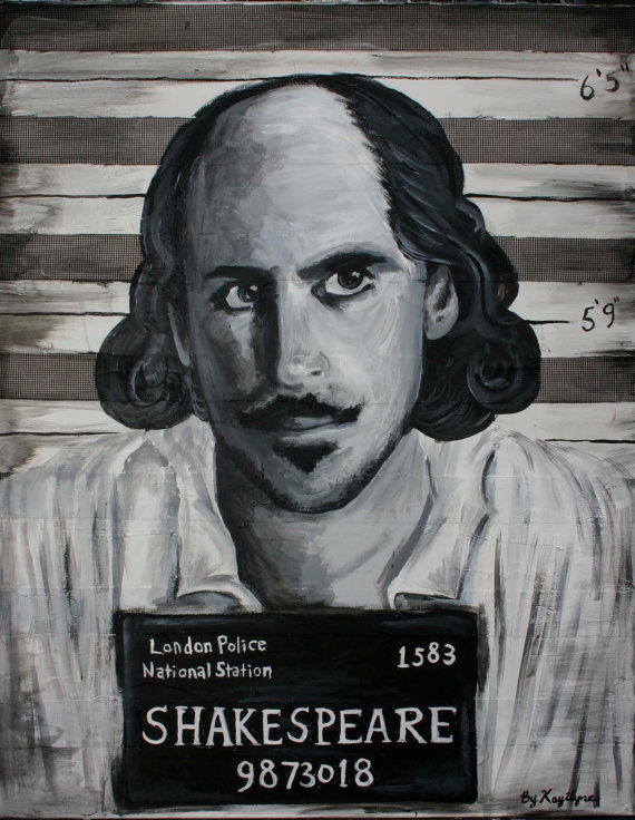 Shakespeare detenido
