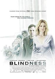 Cartel de la película Blindness, basada en la obra de Saramago Ensayo sobre la ceguera