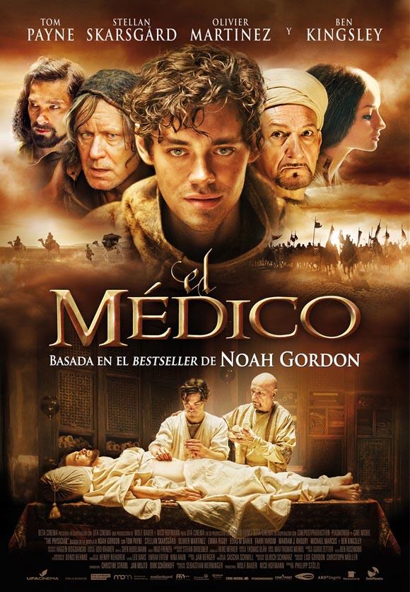 Cartel de la película El médico, basada en el best-seller de Noah Gordon