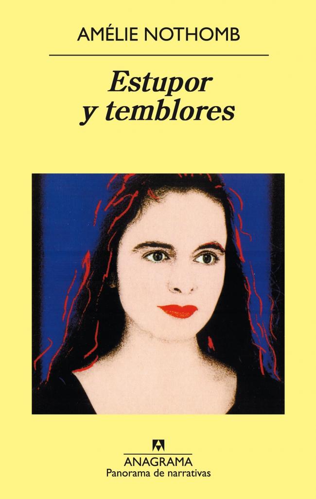 Portada de la novela de Amélie Nothomb, Estupor y temblores