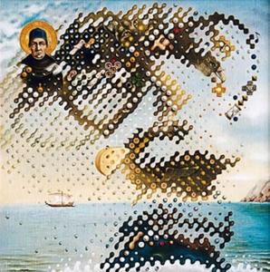 James Joyce, una ilusión óptica de Igor Lysenko