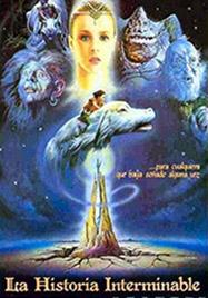 Cartel de la película La historia interminable, basada en la obra homónima de Michael Ende