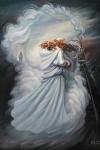 León Tolstói camuflado en una imagen que representa a Anna Karenina
