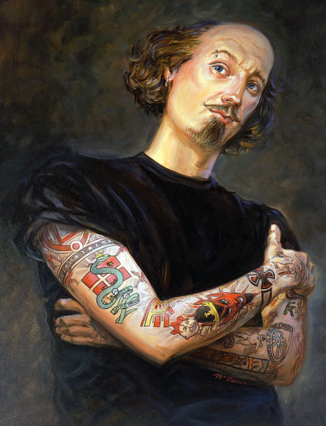 Shakespeare tatuado