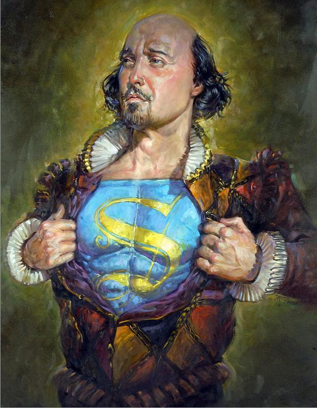Shakespeare el héroe