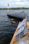 Los libros de la biblioteca flotante de Cedar Lake están protegidos