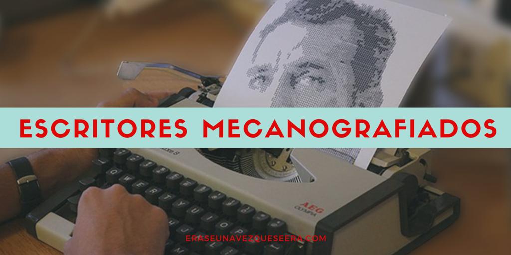 5 famosos escritores retratados con una máquina de escribir
