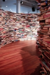 Sección del laberinto de libros aMAZEme