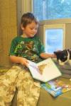 Fomento de la lectura con gatos