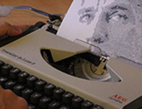 Retratos mecanografiados de escritores