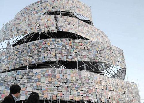 Torre de Babel de Libros, iniciativa con motivo de la designación de Buernos Aires como Capital Mundial del Libro 2011