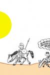 Forges, Don Quijote y los becarios