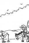 Forges, Don Quijote y las celebraciones del centenario