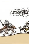 Viñeta de Forges, Don Quijote y las nuevas tecnologías