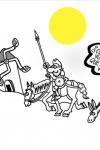 Viñeta de Forges y Don Quijote