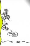 Viñeta de Forges dedicaca a Don Quijote y Sancho