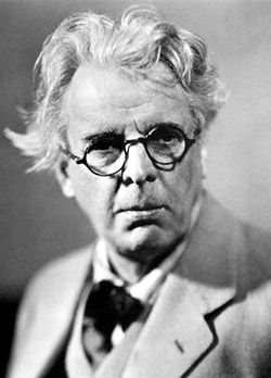 Fotografía de William Butler Yeats