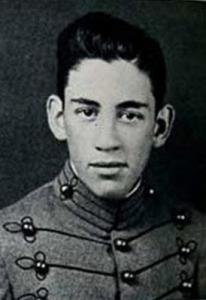 J.D. Salinger en la adolescencia