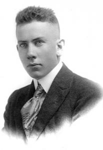 John Steinbeck cuando era un adolescente