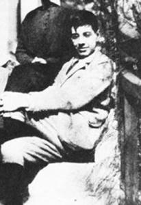 Jorge Luis Borges adolescente
