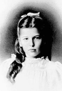 Pearl S. Buck en su adolescencia