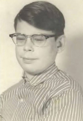 Stephen King cuando era un adolescente