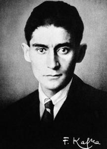Fotografía de Franz Kafka