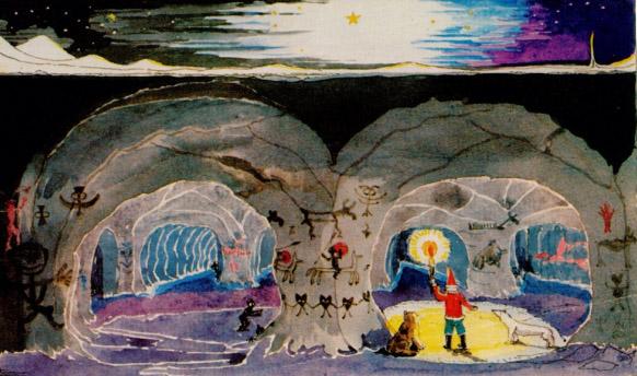 Ilustración de JRR Tolkien