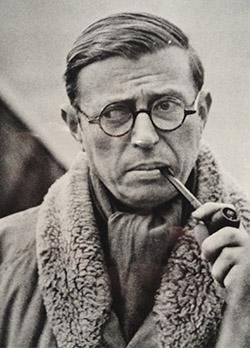 Jean Paul Sartre, fotografía
